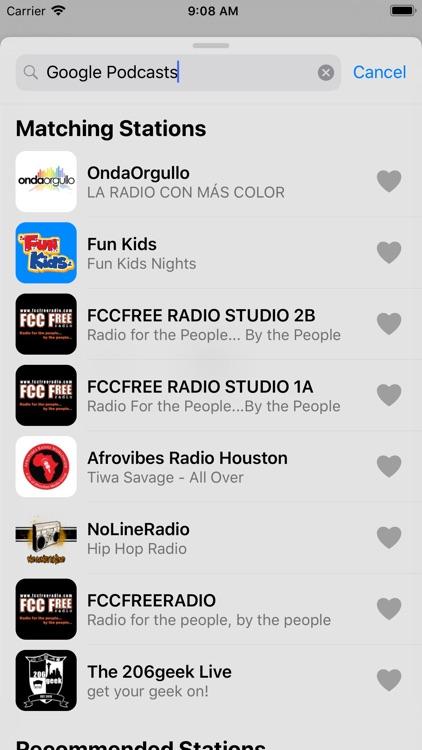 Podcasts Radio & Music screenshot-4