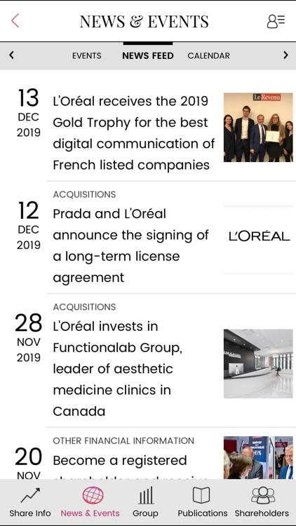 L'Oréal Investors screenshot-1