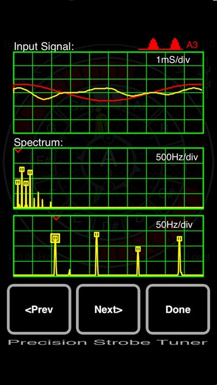 Precision Strobe Tuner screenshot-3