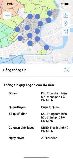 Thông tin quy hoạch TP.HCM