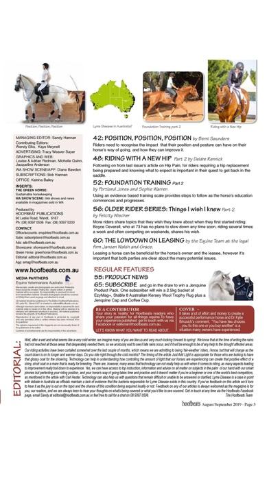 Hoofbeats MagazineScreenshot of 2