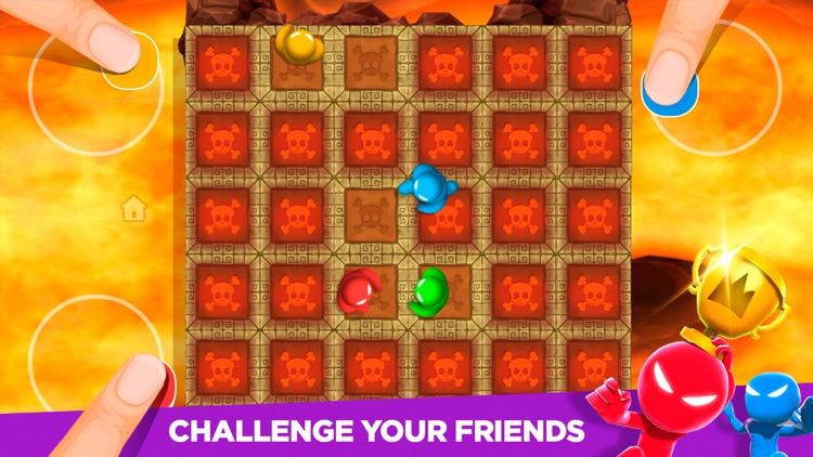 Stickman Party: 4 player games screenshot-3