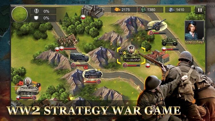WW2: World War Strategy Games screenshot-8