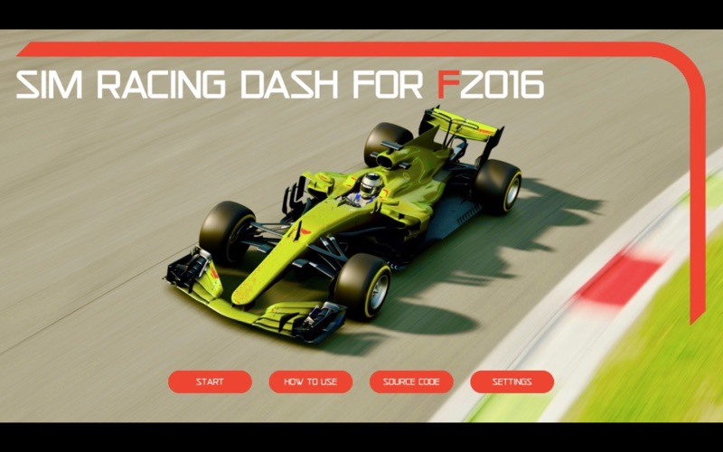 Sim Racing Dash for F2016 screenshot 1