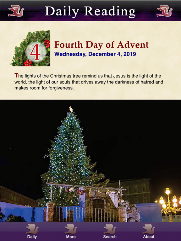 Ipad Screen Shot Advent with Pope Francis 2