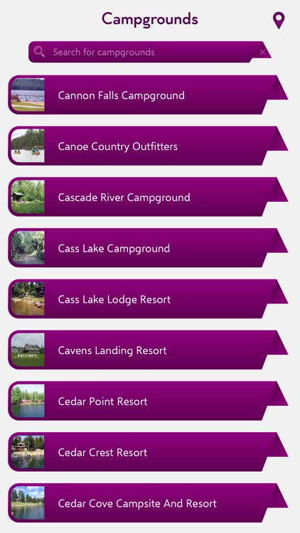 Minnesota Campgrounds Guide screenshot-1