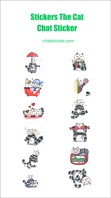 Stickers The Cat Chat Stickers