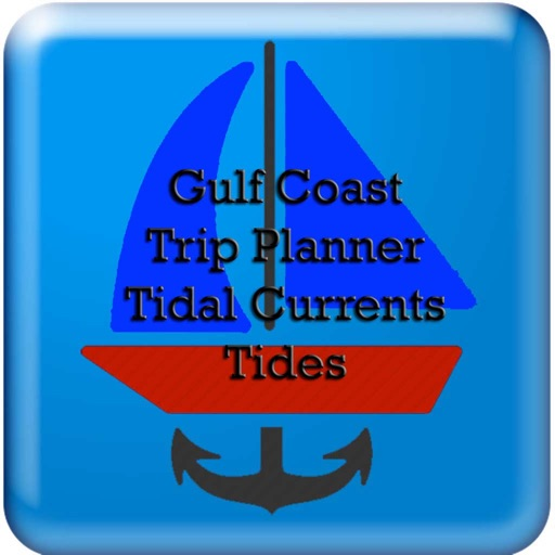 Gulf Trip Plan w/Current+Tides