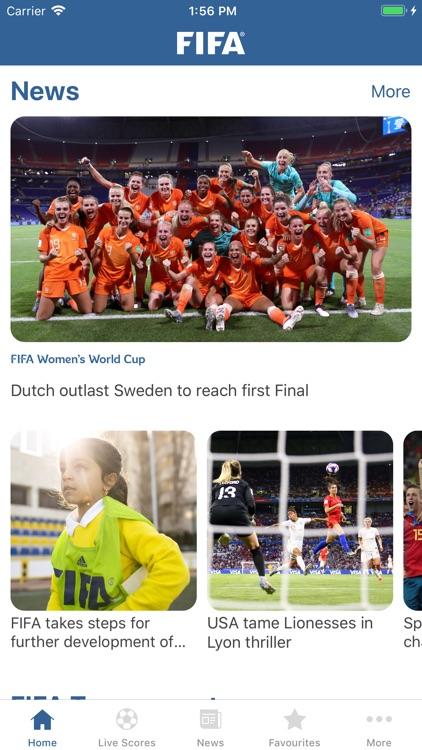 FIFA - Soccer News & Scores screenshot-0