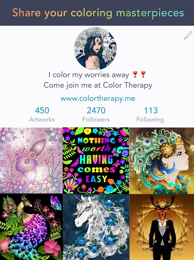 Color Therapy Coloring Number on the App Store