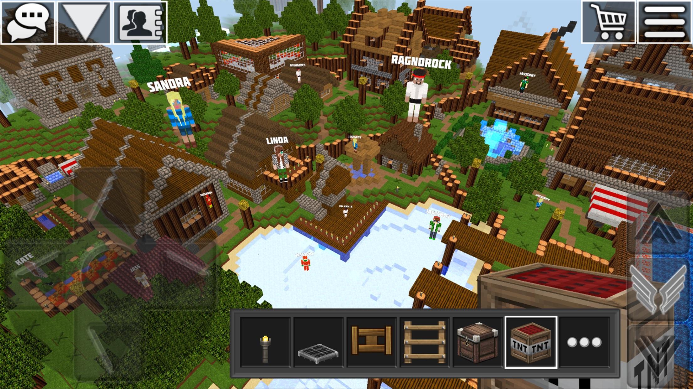 World of Cubes Survival Craft Screenshot