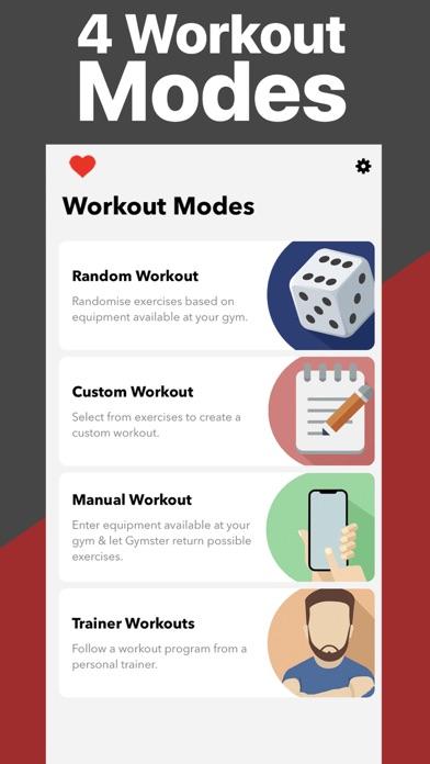 Gymster+ Bodybuilding Tracker Screenshots