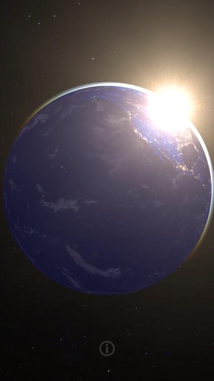 3D EARTH - live planet HD screenshot-3