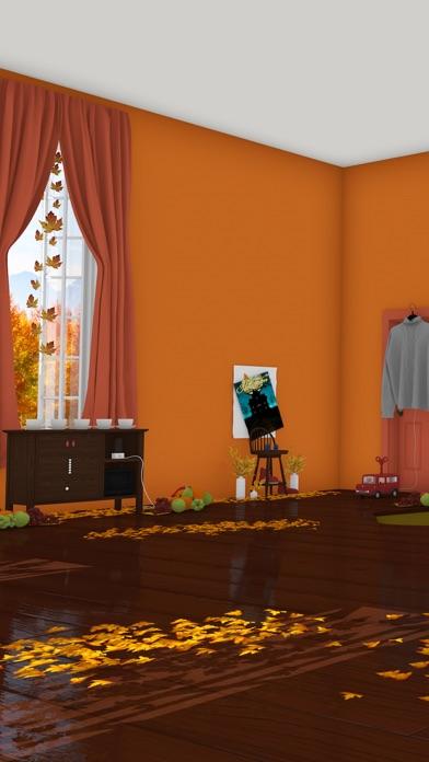 脱出ゲーム Autumn 紅葉とキノコとリスの家のおすすめ画像1