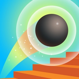 Jump Ball 3D - Colorful Stairs