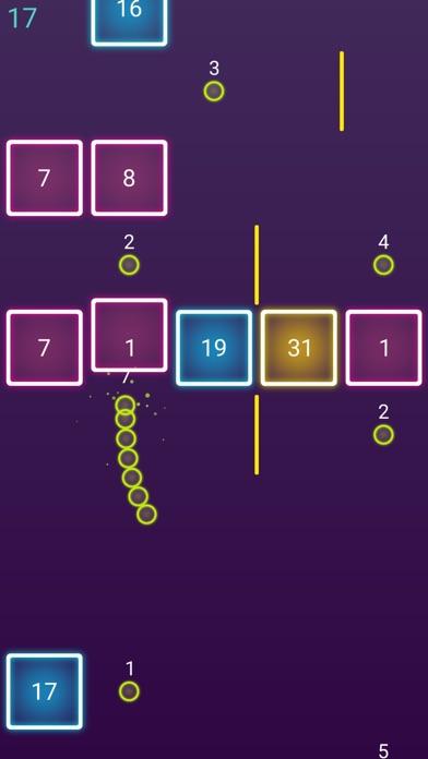 Snake Glow Dash Block screenshot 3
