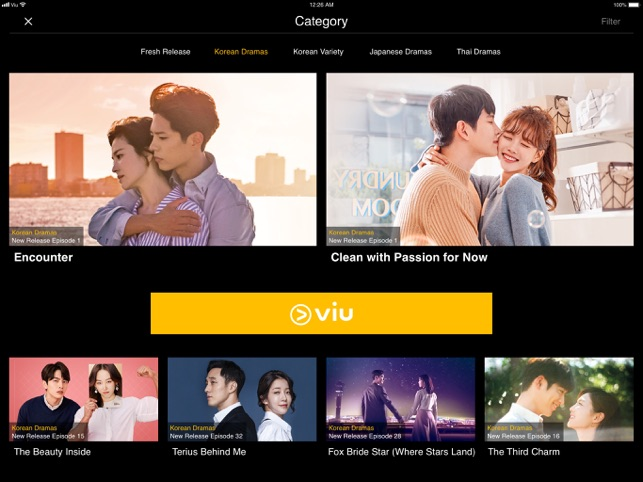 Viu for iPad on the App Store