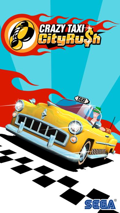 Screenshot of Crazy Taxi™ City Rush1