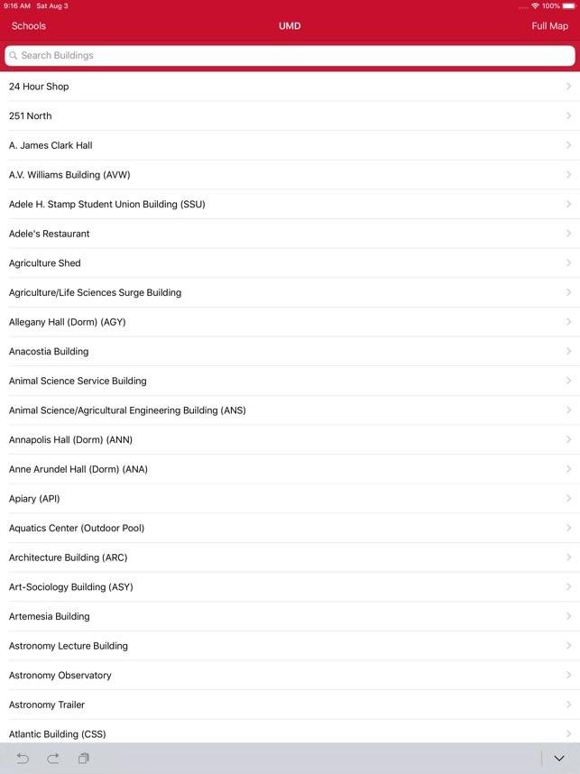 Campus Maps im App Store