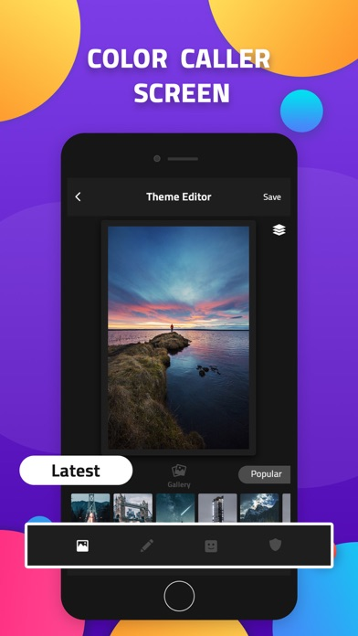 Color Call - Color call screen at AppGhost com