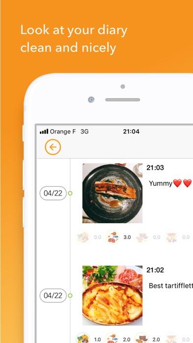 FoodyLife : The Food Diary App Screenshots