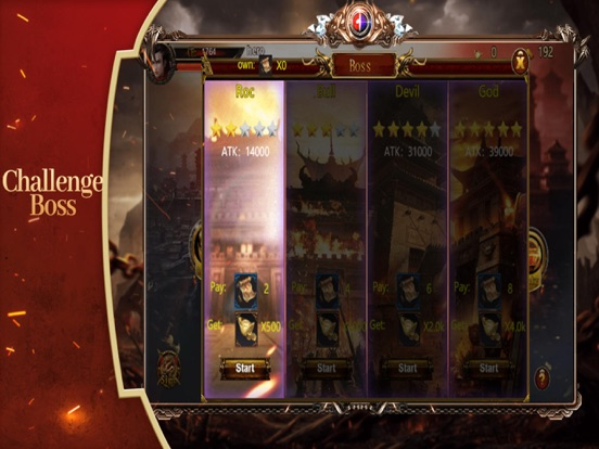 Warrior:Holy Battle screenshot #3