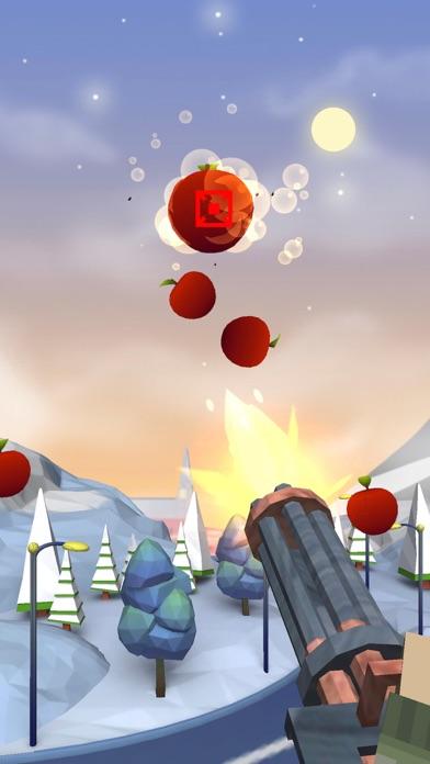 Fruit Master-Gun Shooting Game Screenshot on iOS