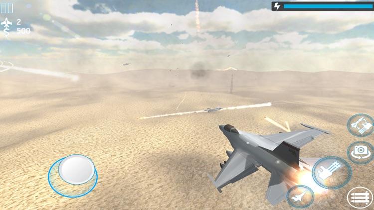 Jet Fighter Air Strike 3d screenshot-7