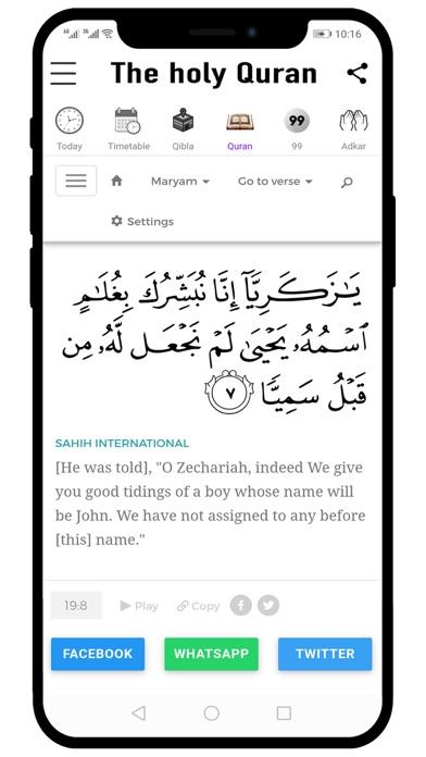 Ramadan 2020 Prayer Times screenshot #4