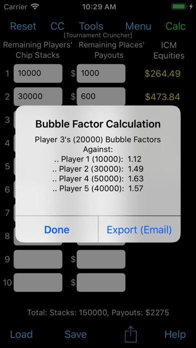 Tournament Cruncher -... screenshot1