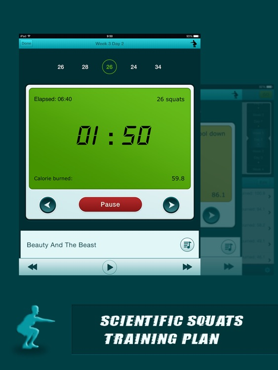 Squats Coach Pro for iPad