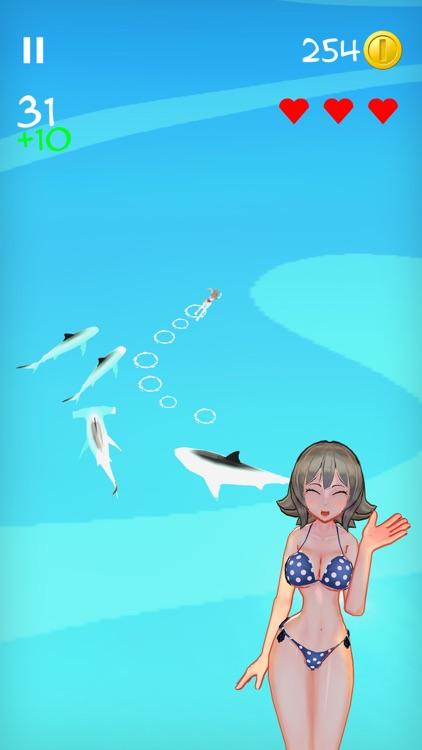 Girl VS Sharks: Meg Attack! screenshot-3