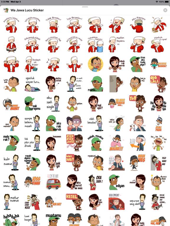 Wa Jawa Lucu Sticker App Price Drops