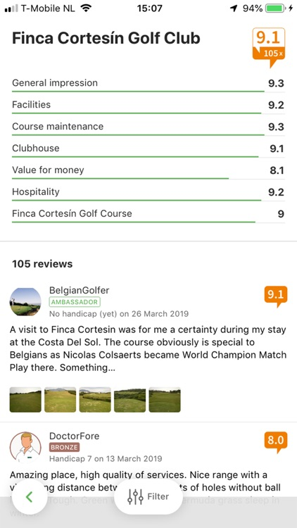 Leadingcourses: golf courses screenshot-6