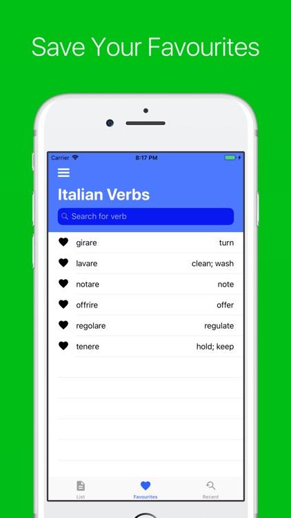Italian Verb Conjugator Pro screenshot-4