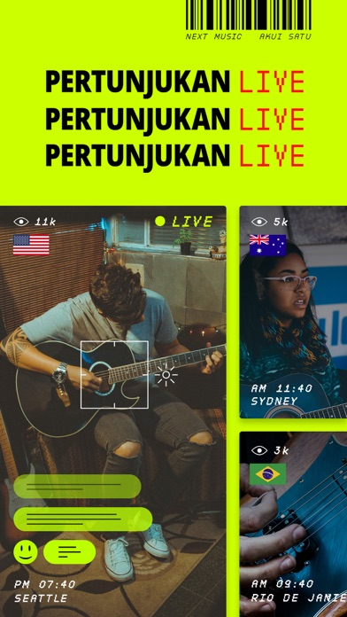 Screenshot for NEXT Music ™ in Indonesia App Store