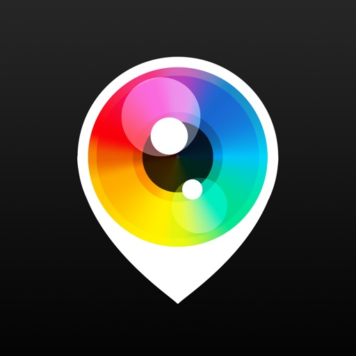 PhotoPlace - photo checkins app logo