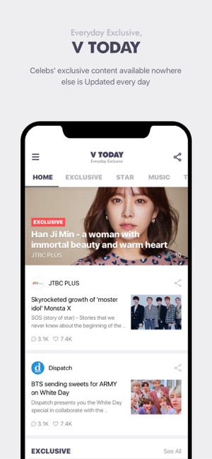 V LIVE - Global Star Live app on the App Store