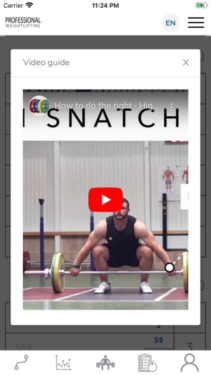 Pro Weightlifting - Coach screenshot-3