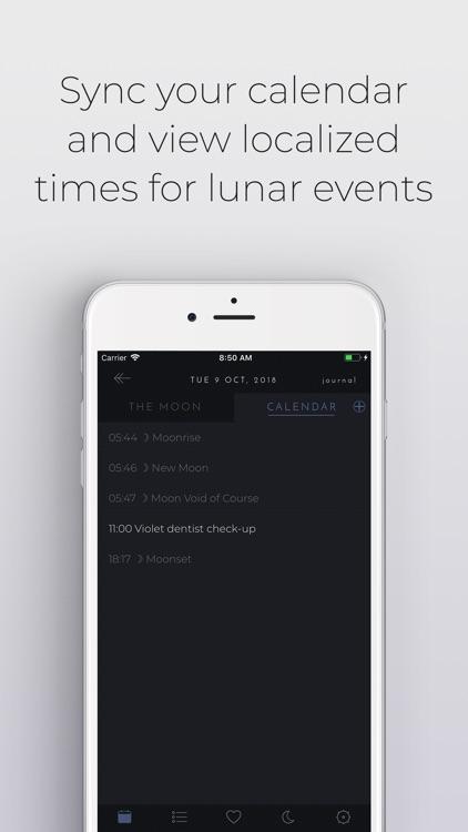 The Moon Calendar screenshot-3