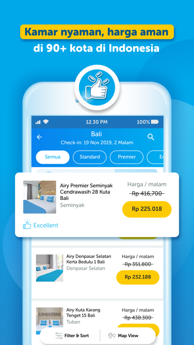 Airy Hotel Tiket Pesawat By Airy Nest Indonesia Pt Ios