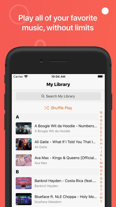 Musi - Simple Music Streamingのおすすめ画像1