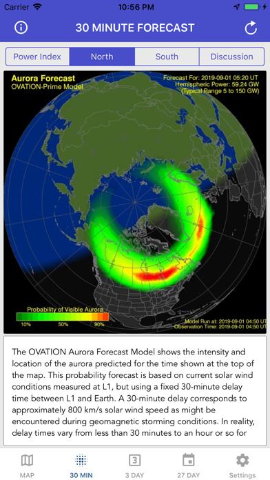 Aurora Forecast & Alerts screenshot 7