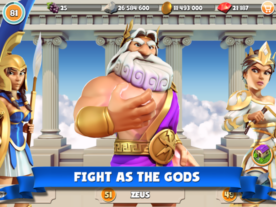 Gods of Olympus screenshot