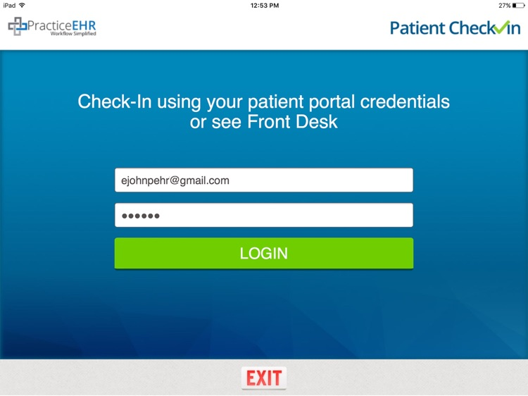 Practice EHR Patient Check-In screenshot-3