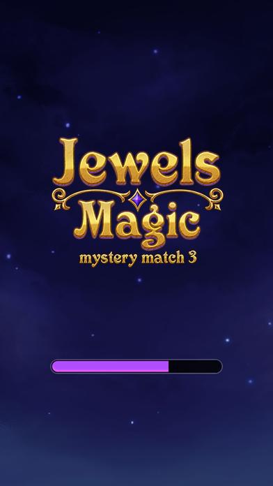 Jewels Magic: Mystery Match3 screenshot 1