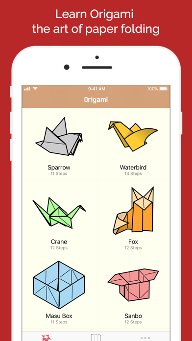 Learn How to Make Origami Screenshots