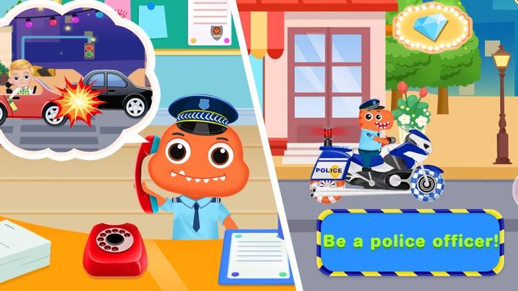 Kids Police Car Driving Game screenshot-0