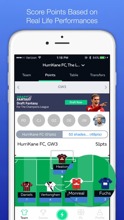 Draft Fantasy Soccer (FPL) screenshot-2
