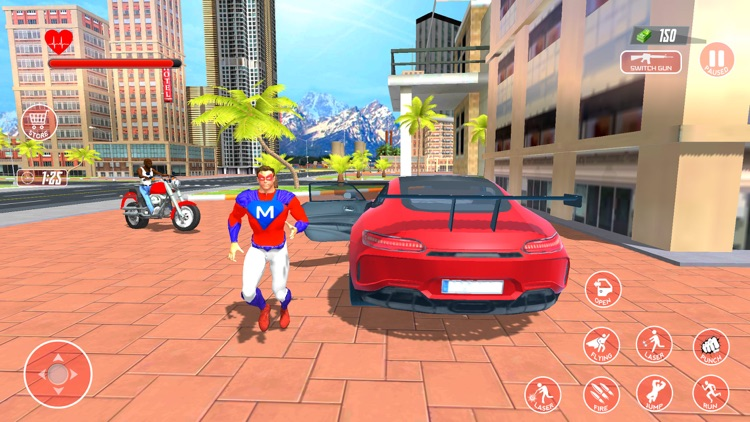 Super Hero Flying Simulator 3D screenshot-4
